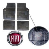 Marea Fiat Tapete Borcol Borracha 4pçs