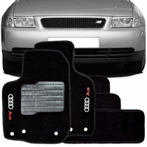 Tapete Carpete Bordado Audi A3 1997 ~ 2007 - 5 Peças