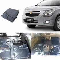 Tapete Carpete Vinil Verniz Assoalho Chevrolet Cobalt