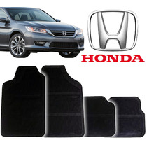 Tapete De Carro Borracha Accord Honda Kit 4pçs