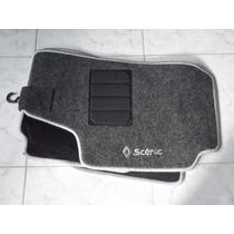 Jogo Tapete Carpete Base Borracha Renault Scenic