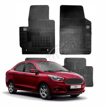 Tapete Borcol Borracha 4 Pçs Ford Novo Ka + Sedan 2015 2016