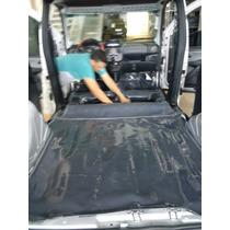 Tapete Carpete De Verniz Automotivo Saveiro Quadrada Volks