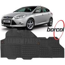 Tapete Borracha Focus Sedan E Hatch 01 Ate 15 Borcol 4 Peças