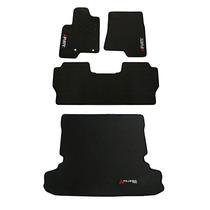 Tapete Mitsubishi Pajero Full 3 Peças + Porta Malas Borracha