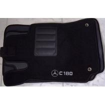 Jogo Tapete Carpete Base Borracha Mercedes C180