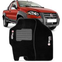 Tapete Carpete Strada Adventure Locker 2000 A 2012 Cs Preto