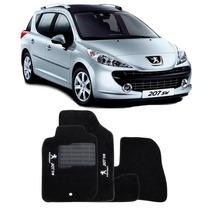 Tapete Carpete Personalizado Peugeot 207sw 5 Peças