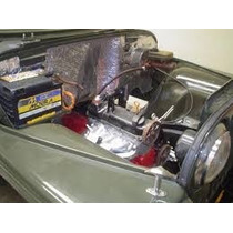 Feltro Metalizado Alumínio Parede Corta Fogo, Cofre Do Motor