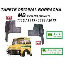 Par Tapete Borracha Original Caminhão Mb 1113 2013 S/feltro