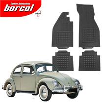 Tapete Borcol Borracha 4 Peças Interlagos - Sedan (fusca)