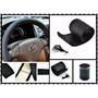 Capa Igual Couro P/ Volante Todos Carros Vw Gm Ford Preto