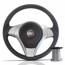 Volante Fiat Palio G1 G2 G3 G4 Sporting Cinza Serve Uno Idea