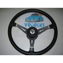 Volante Walrod Gt Prata C/trava P/ Ford Maverick- Original