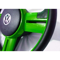 Volante Esportivo Rallye Surf Verde Fusca Até 76 C/ Cubo