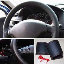 Capa Couro Leg P/volante Costurado Cor Vermelho
