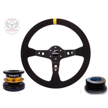 Volante Esportivo Lotse Dakar + Cubo + Snap-fit Universal !