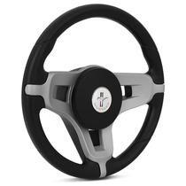 Volante Esportivo Mustang + Cubo Para Peugeot 206 207