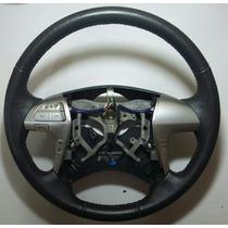 Volante Original Toyota Hilux Em Couro.