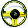 Volante Esportivo Rally Amarelo Gol, Saveiro,parati