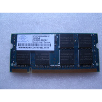1gb Memoria Nanya Macbook Ddr2 Sdram 667mhz Pc2-5300s-12-f1