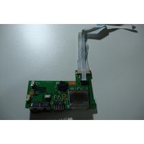 Placa Rede Usb E Leitor Cartão Notebook Microboard Iron I585