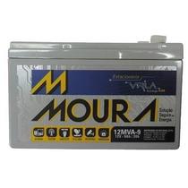 Bateria Selada 12v 9ah 20h Para Nobreak E Sist. Elet - Moura
