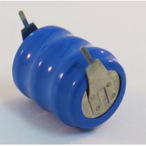 Bateria 3.6v Ni-cd 60mah Recarregavel Com Terminal -- 10 Pç