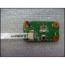 Placa Botão Power Note Positivo Sim 1233 Pn: 6-71-m74ss-d03