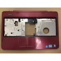 Carcaça Base Touch Dell Inspiron N4050 Vermelha C/botao Powe