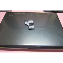 Carcaça Completa Hp Dv7 Intel + Tela 17+bateria+cooler+flat