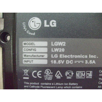 Chassis Base Carcaça Inferior Notebook Lg W2 ( Lw20 ) 100%