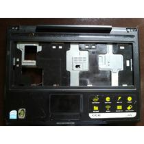 Carcaça Base Teclado Original Notebook Cce W52 Usada