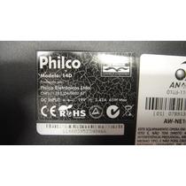 Carcaça Inferior Notebook Philco 14d Semi Nova
