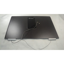 Carcaça Do Lcd Com Antena Wireless Notebook Itautec W7635