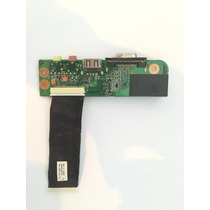 Placa Som Áudio Usb Vga Semp Toshiba Sti Is 1412 1414
