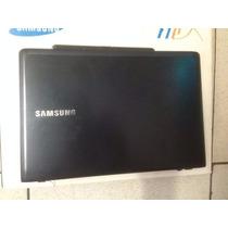 Carcaça Tampa Da Tela Ultrabook Samsung Np470re 470r Flat