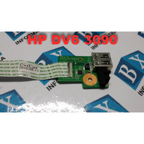 Placa Auxiliar Usb Notebook Hp Dv6 3090 3000 Da0lx6tb4d0