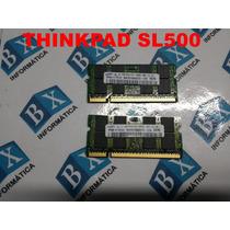 Kit 2gb Memórias Pc5300 2x1gb Notebook Lenovo Thinkpad Sl500