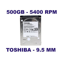Hd Notebook 500gb 9.5mm Toshiba - Mq01abd050 7200 Rpm