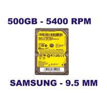 Hd Notebook 500gb 9.5mm Samsung - St500lm012 5400 Rpm