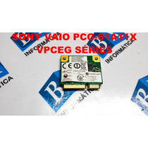 Mini Pci Wireless + Bluetooth Sony Vaio Vpceg / Pcg 61a11x
