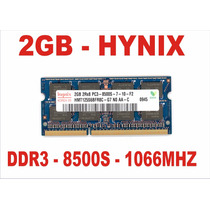 Memória 2gb 8500s Hynix Ddr3 Macbook Pro A1278 1066mhz