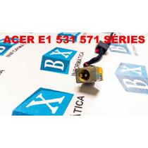 Dcjack De Energia Notebook Acer E1 531 571 Séries