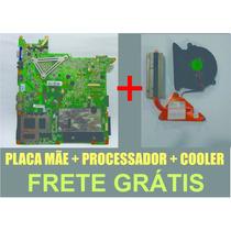 Kit Placa Mãe 6-71-m74s0-d06a Gp Positivo Premium Sim+
