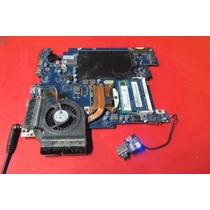 Placa Mãe Processador I3 4gb Cooler Notebook Samsung Npr440