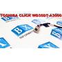 Dcjack De Energia Superio Do Lcd Toshiba Click Wd35dt Séries