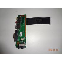 Placa Usb Som Áudio Vga Notebook Semp Toshiba Sti Is 1412