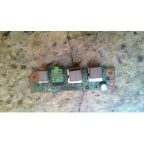 Placa Controladora Som+usb Itautec Infoway Note W7655