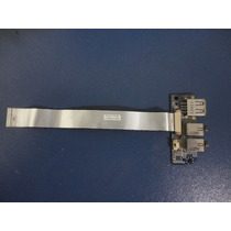 Placa De Som + Usb P/ Notebook Itautec A7520